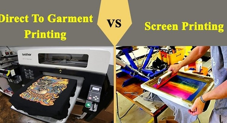 Screen printing, DTG printing & Embroidery